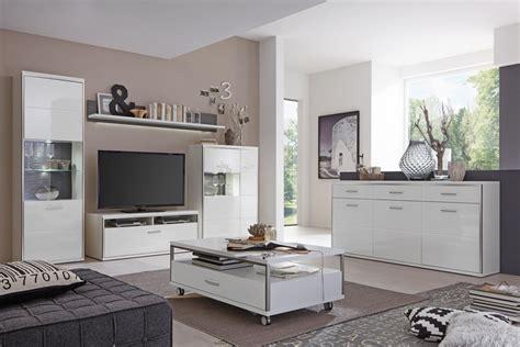 wandschrank wohnzimmer weiss couchtisch travis 14 wei 223 hochglanz 115x70x40 cm sofatisch