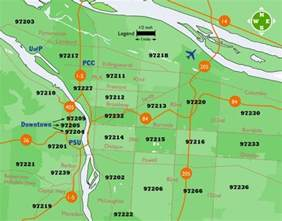 Portland Or Zip Code Map by Portland Zip Codes Map Images