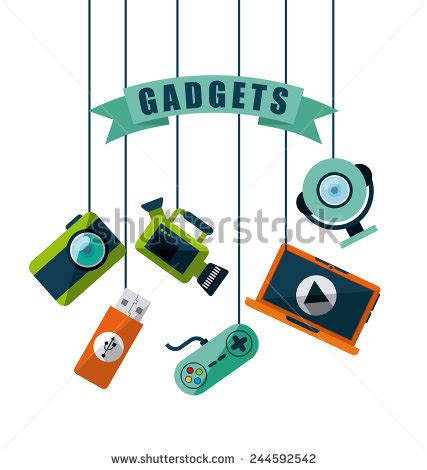 design gadgets gadget stock images royalty free images vectors