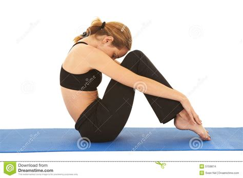 Pilates Mat Series by Pilates Exercise Series Stock Images Image 5159874