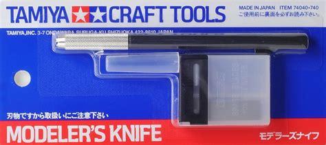 Tamiya Modeler S Knife 74040 tamiya 74040 modeler s knife black