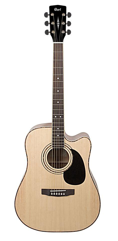 Gitar Akustik Cort Lancip Glossy cort ad880ce ns acoustic guitar with guitar