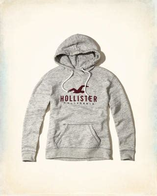 Girls Iconic Logo Collection | Hollister Co. Hollister Sweaters For Girls Grey