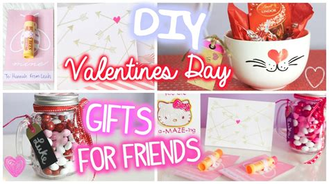 Diy Valentine Gifts For Friends | valentines day gifts for friends 5 diy ideas youtube
