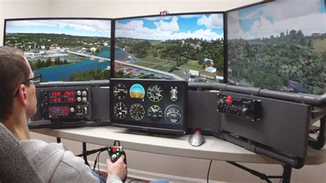 diy flight simulator cockpit plans how to order and