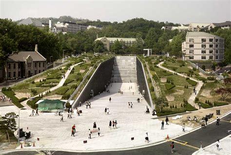 design center korea ewha womans university seoul building korea e architect