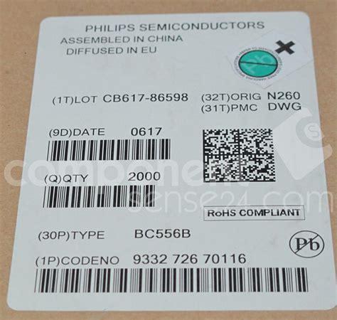Bc557 C Philips bc556b philips component sense