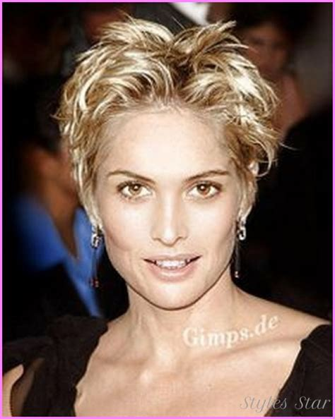 very short hairstyle women round face short haircuts for women with round faces over
