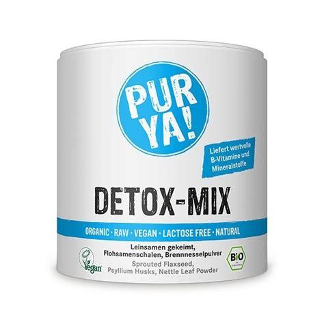 Detox Mixture purya bio detox mix apotheken dr stoffel rapperswil