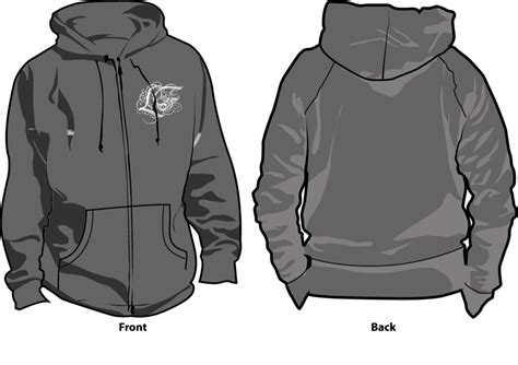 hoodie design template png black sweatshirt clipart www imgkid com the image kid