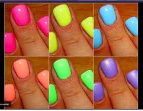summer color nails neon nail elhabba