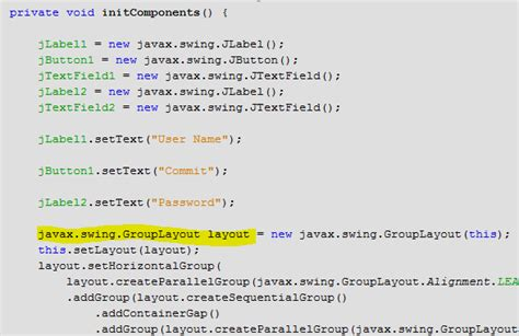 org jdesktop layout grouplayout how to fix netbeans grouplayout incompatibility with java