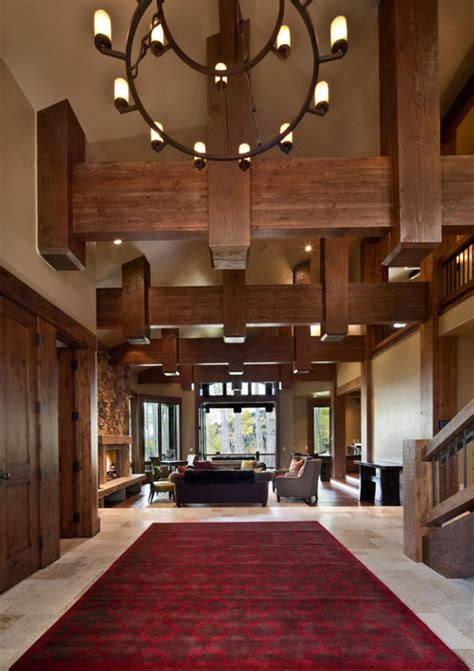 Rustic Dining Room Ideas 25 exciting design ideas for faux wood beams home