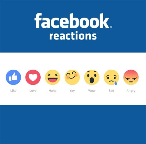 fb reaction keys for using facebook reactions for business pages