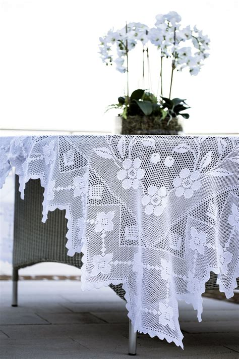 Handmade Table Cloth - crochet tablecloth 9 crochet tablecloth tablecloth