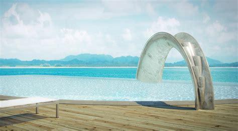 home pools water slides home pools backyard design ideas