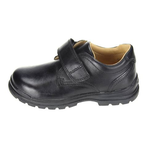 size 26 shoes geox william boys black school shoe size 26 eu on ebid
