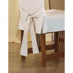 Sure Fit Cotton Duck Dining Chair Slipcover Sure Fit Cotton Duck Shorty Dining Chair Slipcover Reviews Wayfair Ca