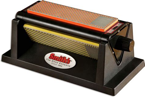 Sharpening Stone Kitchen Knives by Smith S Knife Sharpener Smith S Diamond Tri Hone Sm 50008