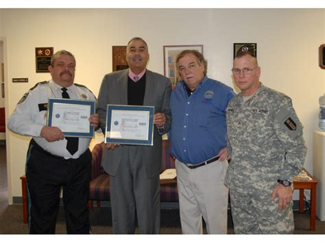 essex county sheriff and lieutenant honored for supporting