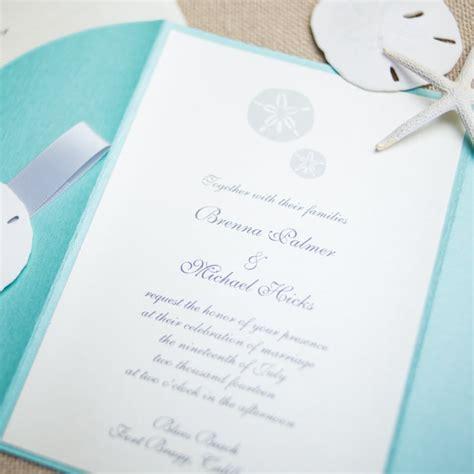 Wedding Invitations 1 Dollar by Sand Dollar Wedding Invitations Chic Shab