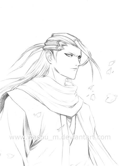 Washu Sketches by Kuchiki Byakuya Sketch By Washu M On Deviantart