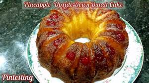 pintesting pineapple upside down bundt cake pintesting