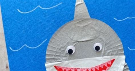 easy shark crafts for 20 simple shark crafts for shark craft and shark