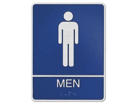 tumblr mens bathroom metal mens room sign ada men s bathroom sign woodland