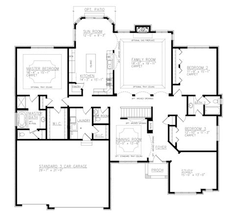 Jack And Jill Floor Plans by The Berkshire Model Camelot Homes Inc Custom Home