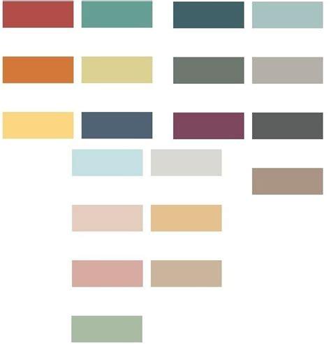 paleta de colores para interiores colores para paredes 2019 tendenzias