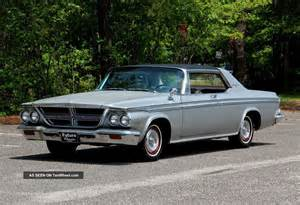 1964 Chrysler 300 Silver Edition 1964 Chrysler 300 Silver Edition Fully Documented