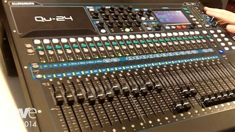 Mixer Qu 24 ise 2014 allen heath adds qu 24 compact digital mixer