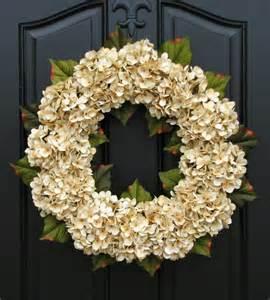 Wreaths For Front Doors Wedding Decor Wedding Wreaths Chagne Front Door Wreath