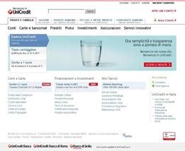 unicredit on line accesso privati nuovo sito www unicredit it unicredit