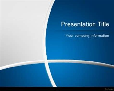 free dark blue manager powerpoint template