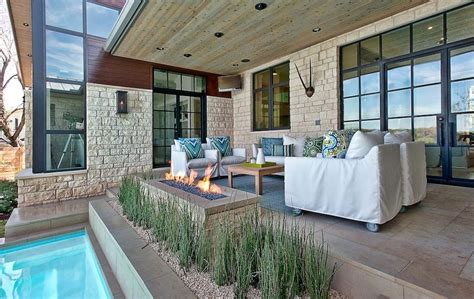 natural light patio covers ohio modern patio outdoor elegant suburban house with exposed interior wood beams
