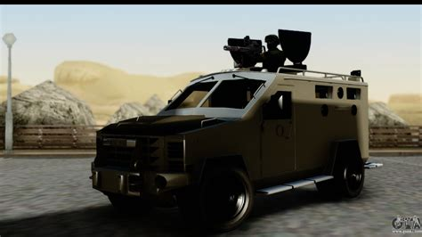Highhells Sa 05 9 camion blindado para gta san andreas