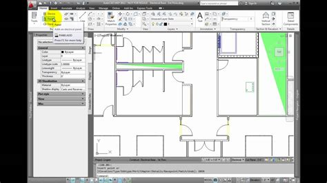 tutorial autocad mep autocad mep 2012 tutorial adding electrical equipment