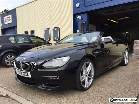 2011 sports convertible 6 series for sale in united kingdom