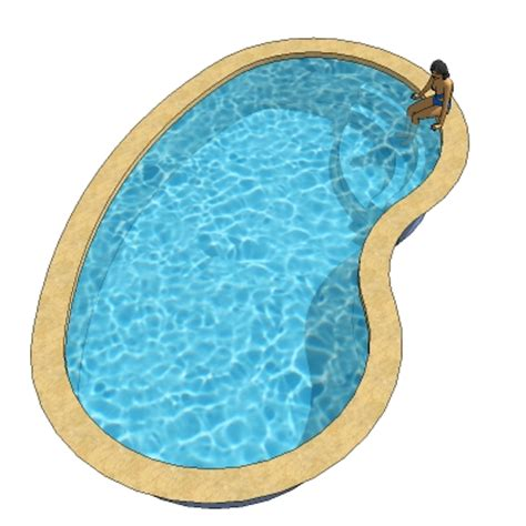 kidney shape kidney shaped pools 3d model formfonts 3d models textures