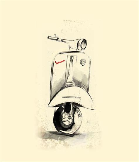 doodle vespa 25 best ideas about vespa illustration on