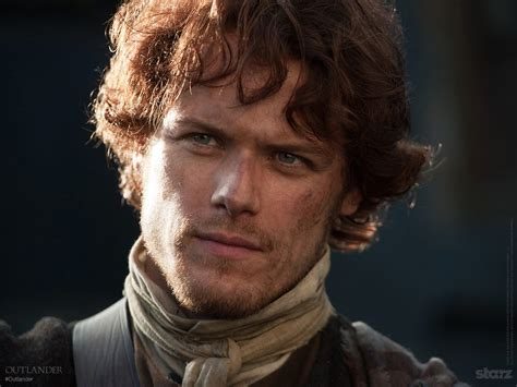in frasier new still of sam heughan as fraser in outlander outlander