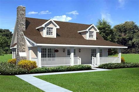 Cape cod home plan 3 bedrms 2 baths 1415 sq ft 131 1017