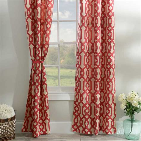 cheap curtain panel sets red gatehill curtain panel set 95 in kirklands