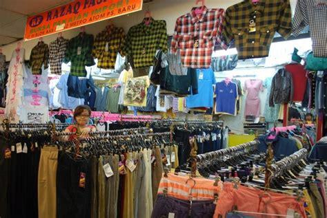 Toko Baju Cressida Di Jakarta stok masih melimpah pedagang bali mengeluh republika