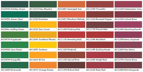 kwal interior paint color chart ask home design