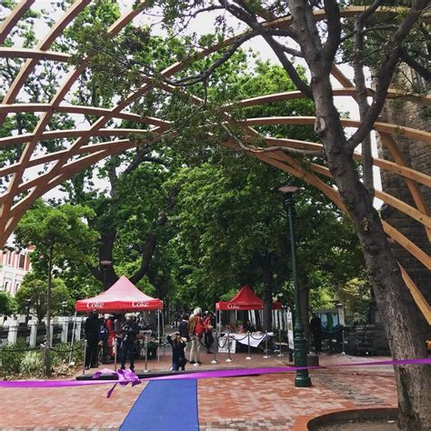 Garden Arch Cape Town New Arch For Arch Inaugurated At Entrance To The Company