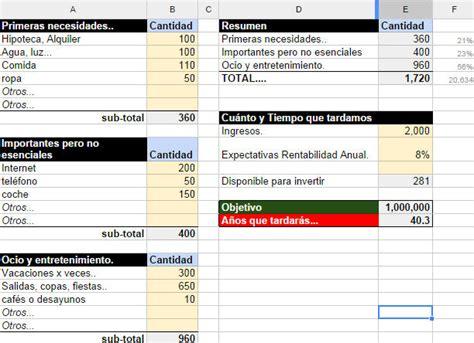 descargar plantilla excel para control ingresos gastos descargar formatos para control de ingresos y gastos