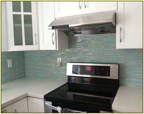 Wainscoting Kitchen Backsplash purple backsplash glass tile home design ideas